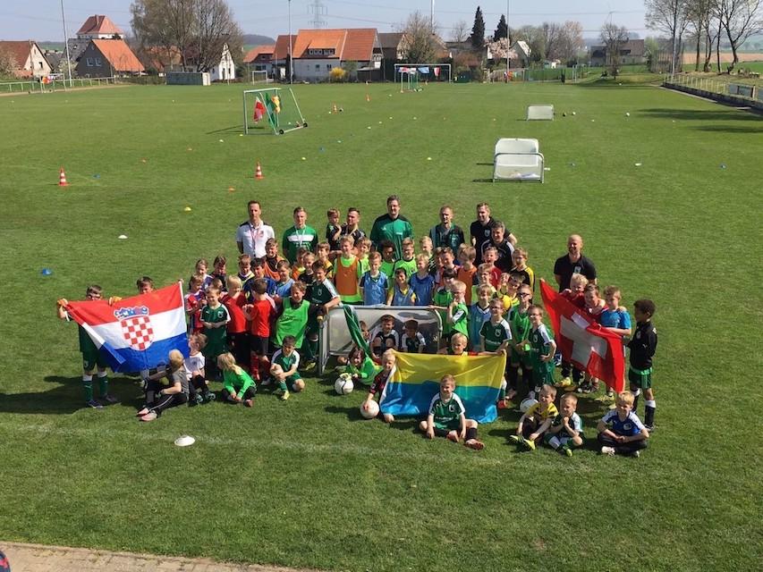 15. Fußball-Camp