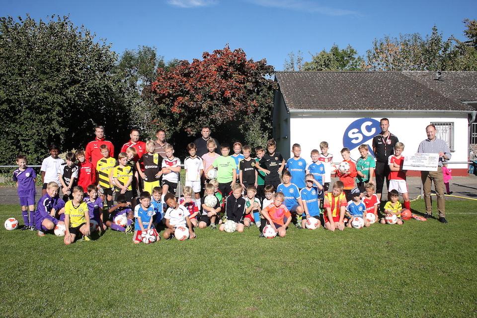 10. Fußball-Camp
