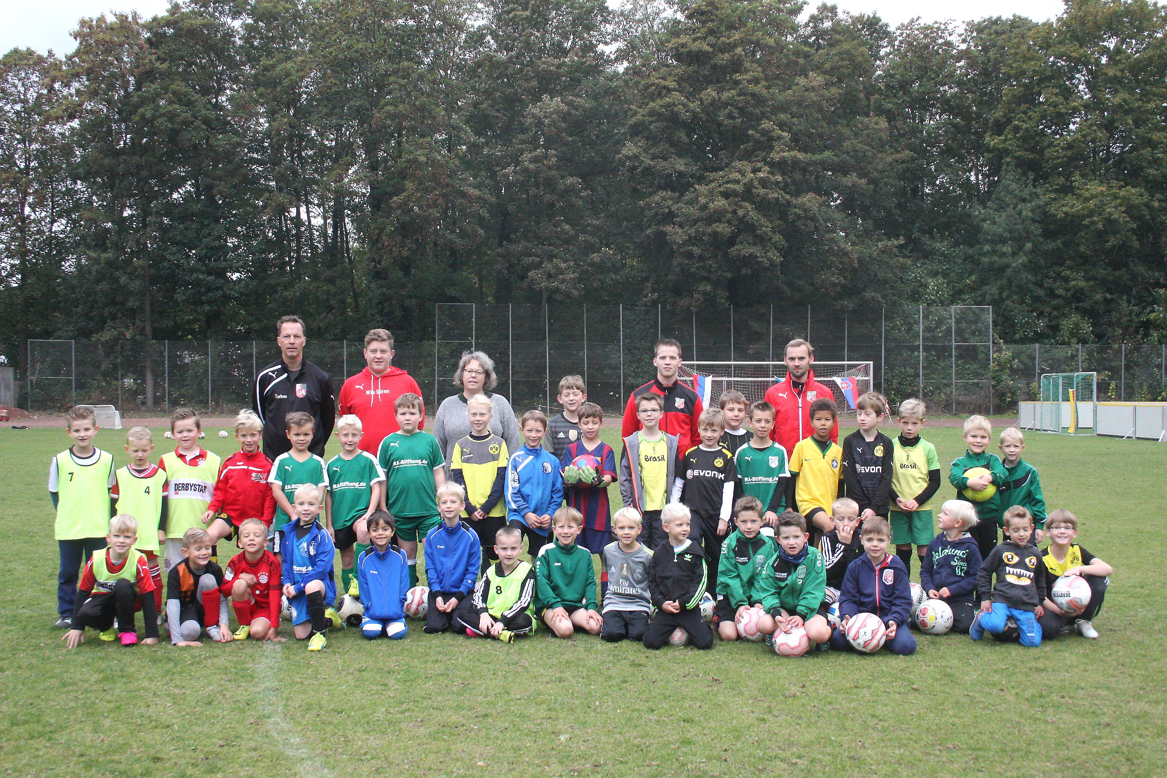 14. Fußball-Camp