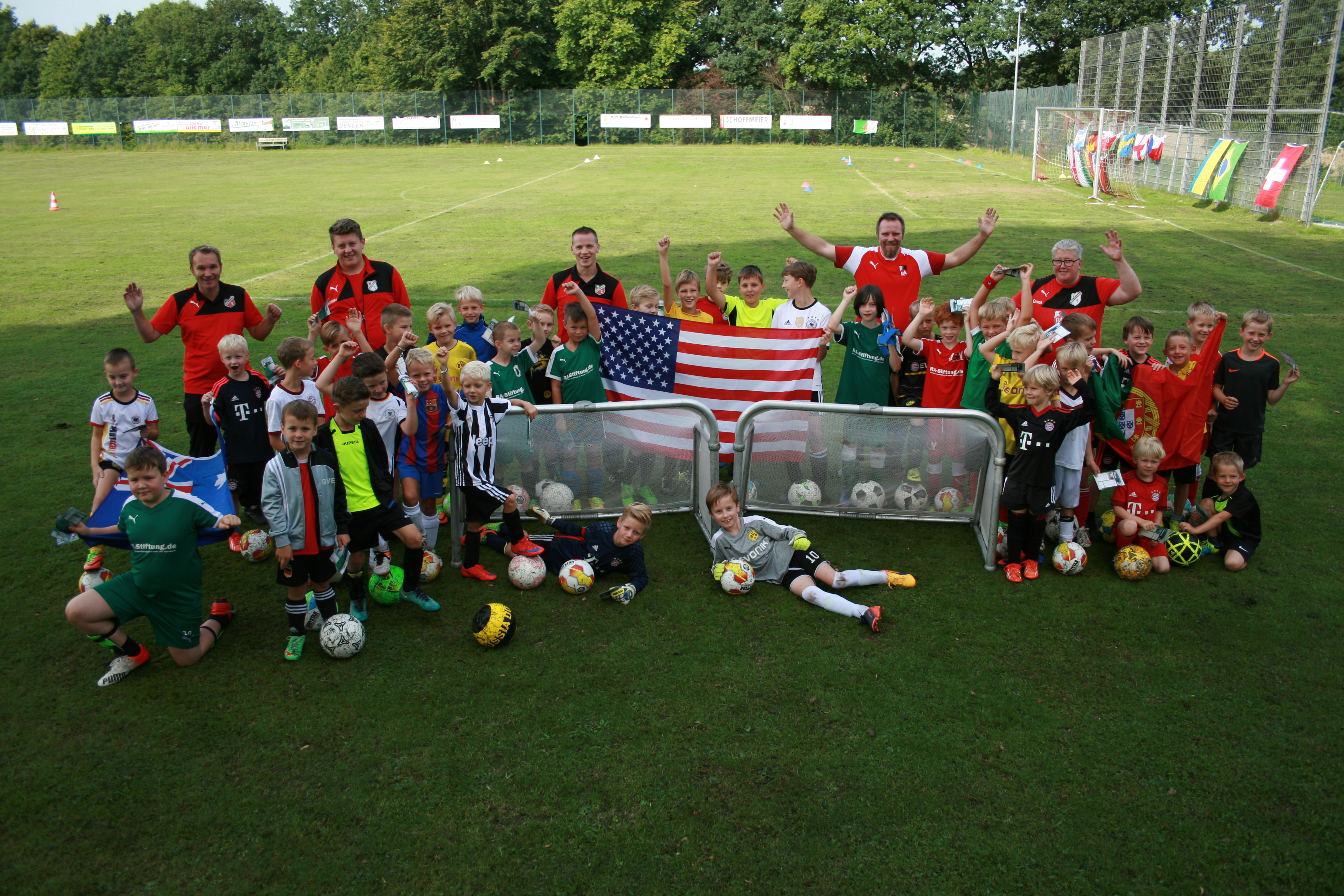 16. Fußball-Camp