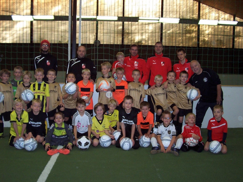 4. Fußball-Camp