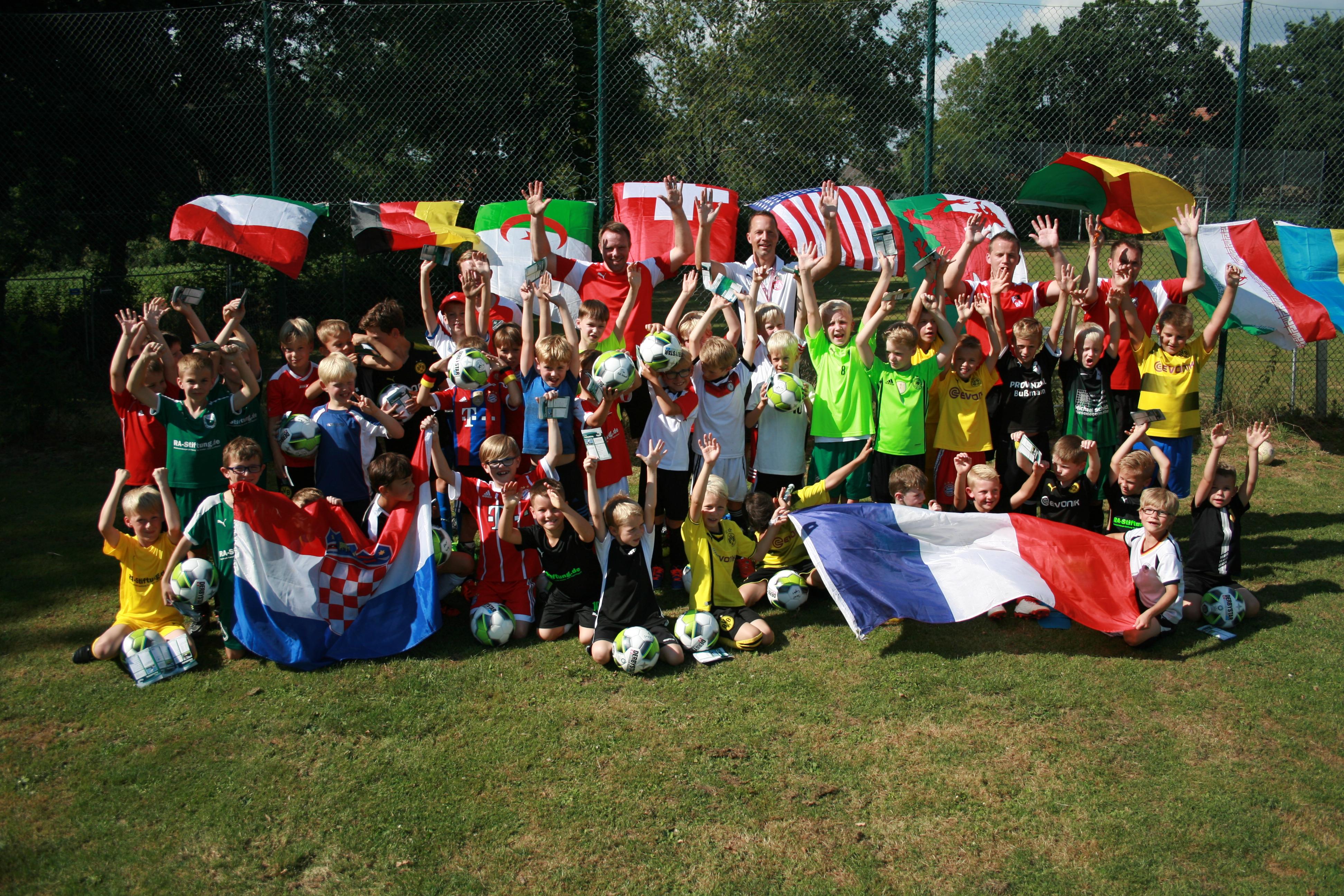 Ferien, Fußballcamp, Finale