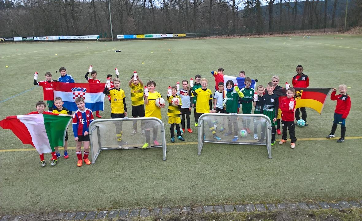17. Fußball-Camp